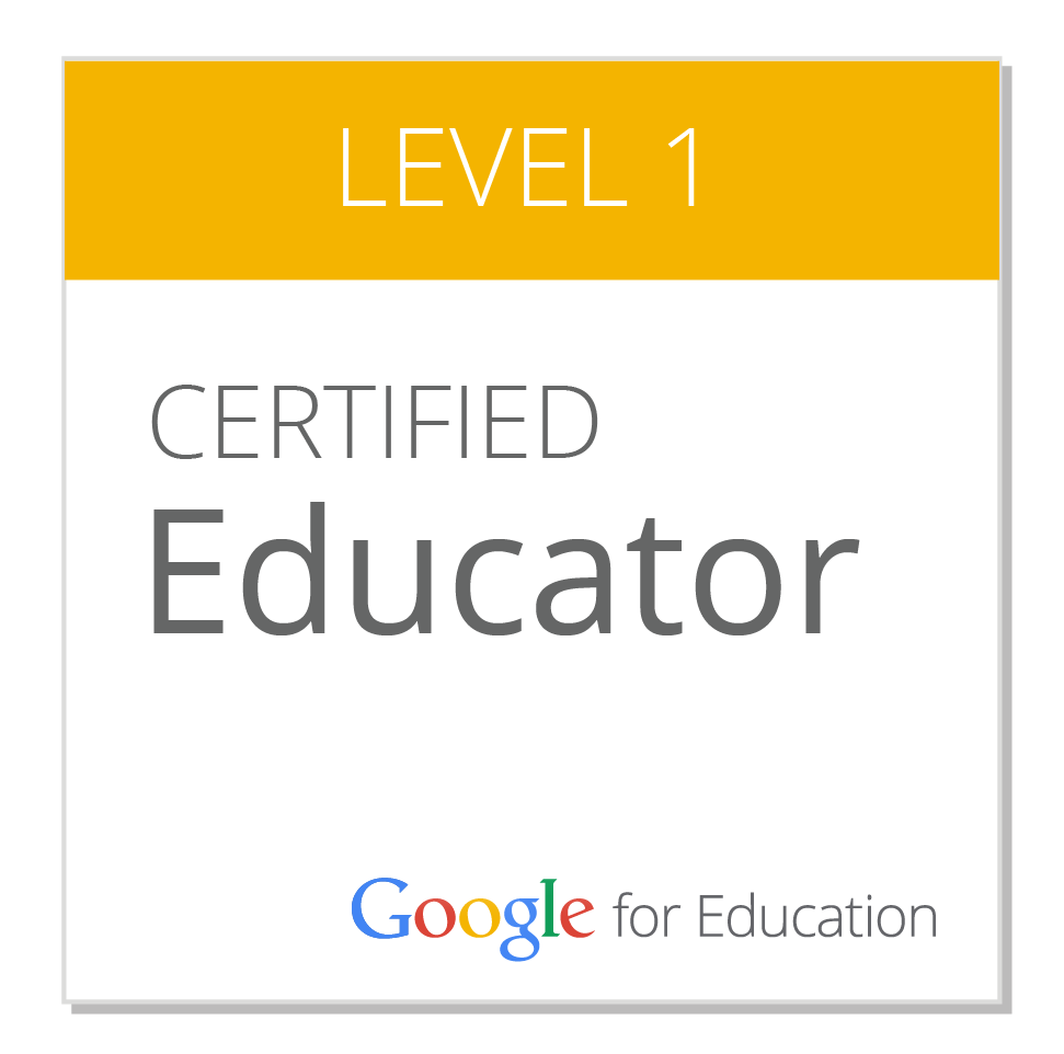 Badge GCE Level1